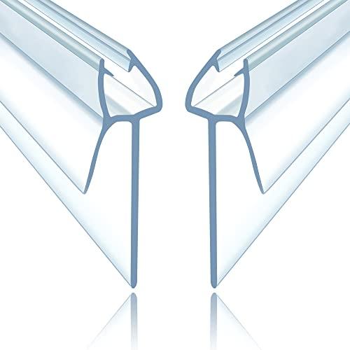 PREMIUM GRID Duschdichtung Doppelpack (2x100cm), für Glastür 6mm/7mm/8mm...