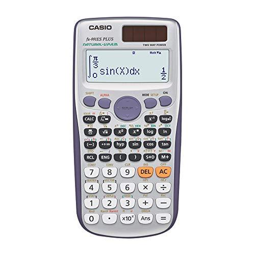 Casio FX-991 ES PLUS Wissenschaftlicher Taschenrechner  - UK Version, engl....