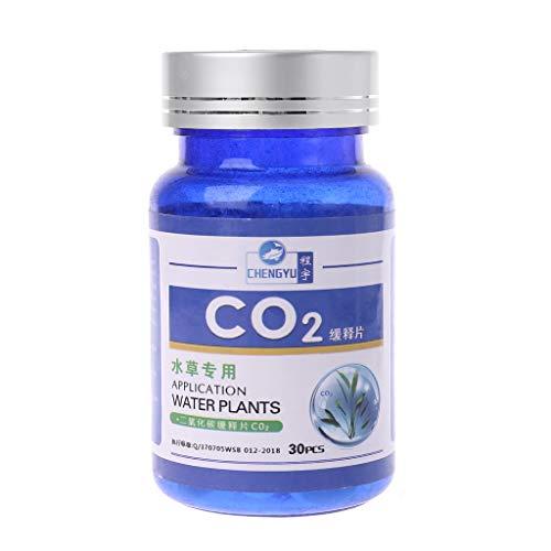 Biniwa CO2 Tablette Kohlendioxid Diffusor für Wasserpflanzen Gras Aquarium
