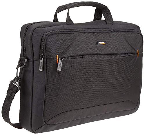 AmazonBasics Laptop- und Tablet-Schultertasche, für Laptops bis zu 15,6 Zoll...