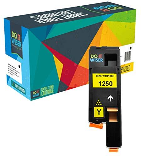 Do it Wiser Kompatible Toner als Ersatz für Dell C1760nw 1250c C1765nf C1765nfw...