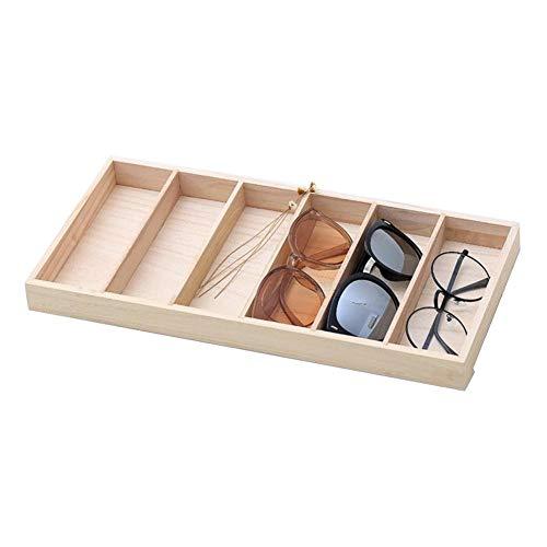 foyar Holz 6 Fächer Brillen Display Organizer Brillen Sonnenbrille...
