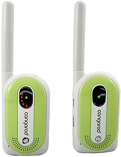 Babyphone Maternal Instinct bis 1,3 km Reichweite, Empfänger mit Gürtelclip...