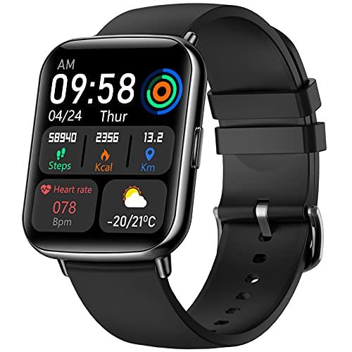 VOTUENIX Smartwatch,1.69 Zoll HD Touchscreen Fitnessuhr, Fitness Tracker uhr mit...