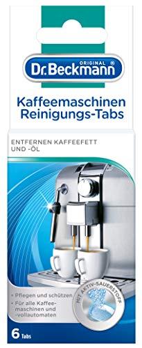 Dr. Beckmann Kaffeemaschinen Reinigungs-Tabs | entfernen Kaffeefett und -öl |...