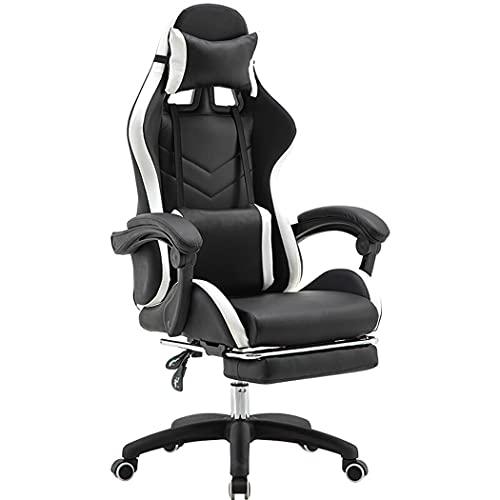 huasa Gaming Stuhl Bürostuhl Racing Stuhl Gamer,Ergonomischer...