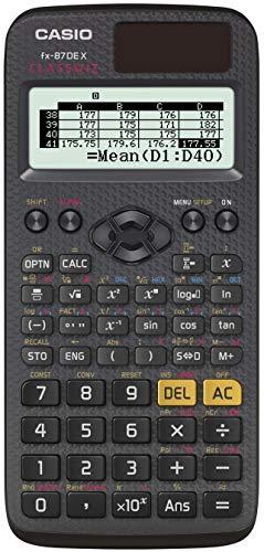 Casio ClassWiz FX-87DE X technischer wissenschaftlicher Schulrechner (593...