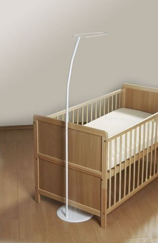 Alvi Himmelstange freihstehend mit Fuss für Kinderbett