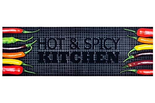 HOMEFACTO:RI Küchenläufer Küchenteppich Teppichläufer Läufer Hot & Spicy...