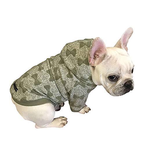 YABAISHI Zweibeiner-Kleidung Hunde-Bekleidung Cotton Jacquard Hunde-Kleidung...