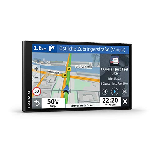 Garmin DriveSmart 65 mit Amazon Alexa – Navi mit Sprachassistenz,...