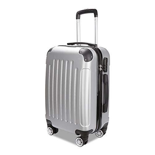 TolleTour Trolley Koffer mit Zahlenschloss ABS-Hartschale Alu-Teleskopgriff...