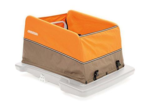 Croozer Unisex Jugend Fahrradanhänger-3092022030 Fahrradanhänger, orange/Grey,...