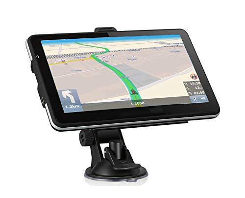 DBPOWER Navigationsgerät 7 Zoll LKW PKW Wohnmobil 8GB/256M TMC Stauumfahrung,...