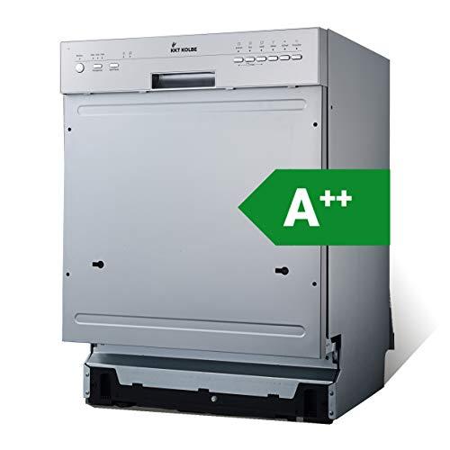 Teilintegrierbarer Geschirrspüler (60cm, Edelstahl, A++, 259kWh/Jahr, AquaStop,...