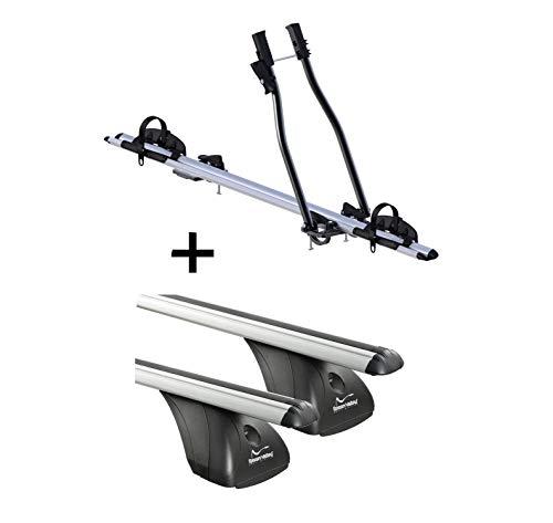VDP Fahrradträger SAGITTAR + Dachträger Original kompatibel mit Peugeot 5008...