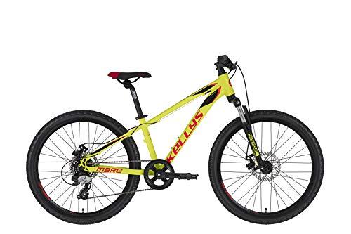 Kellys Marc 50 24R Kinder & Jugend Mountain Bike 2020 (32cm, Yellow)