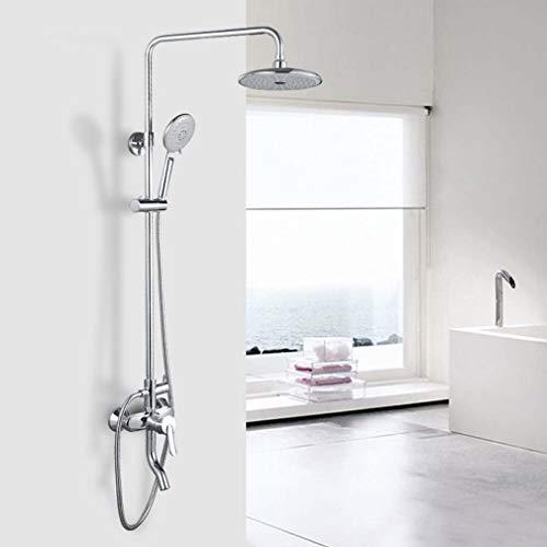 YDYG Mixer Dusche, 3-Funktion Entkalken Duschen, Duschsystem mit Regendusche und...