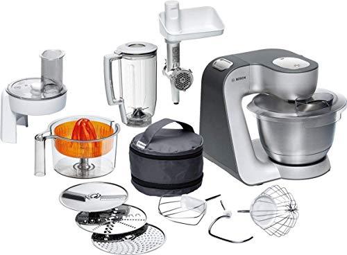 Bosch MUM5 Styline Küchenmaschine MUM56340, vielseitig einsetzbar, große...