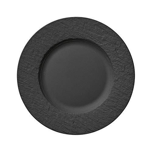 Villeroy und Boch - Manufacture Rock Speiseteller, 27 cm, Premium Porzellan,...