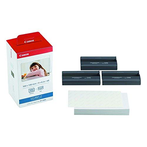 Canon 3115B001(AA) Druckerkartusche und Papier (100 x 148mm für Selphy CP...