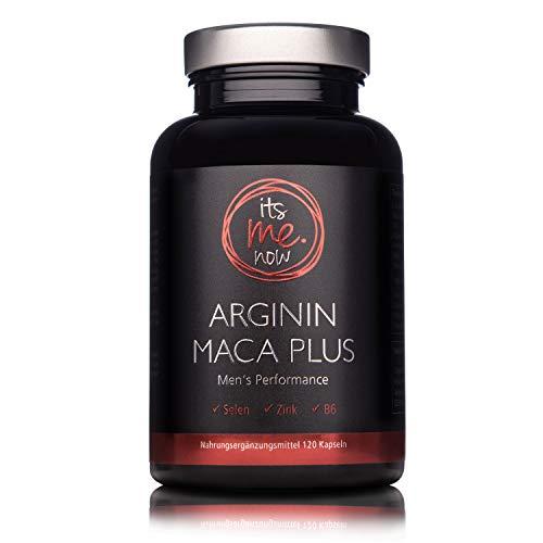itsme.now Arginin Maca Plus - Fitness & Lust I Kraftvoller Wirkstoff-Komplex...