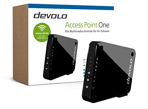 devolo Access Point One Multimedia Allrounder 'WLAN Monster' (WLAN AC bis 1733...