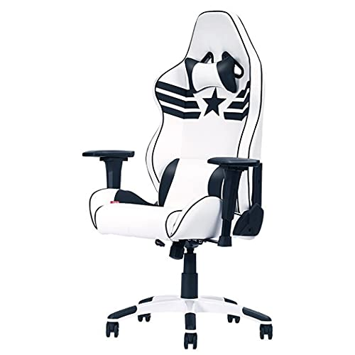 huasa Gaming Stuhl Bürostuhl,Gamer Ergonomischer Stuhl,Atmungsaktivem Weichen...