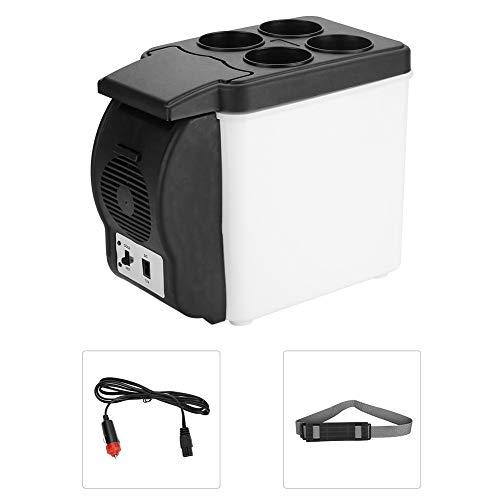 Mini-Autokühlschrank, tragbarer Autokühlschrank Mini-Multifunktionsgetränke...