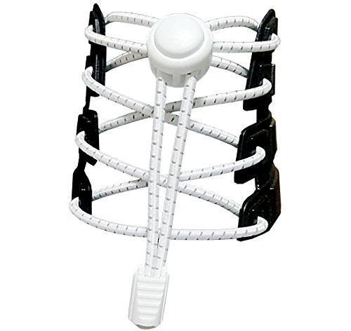 Canwn [3 Paar] Elastische Schnürsenkel mit Schnellverschluss, Reflektierend...
