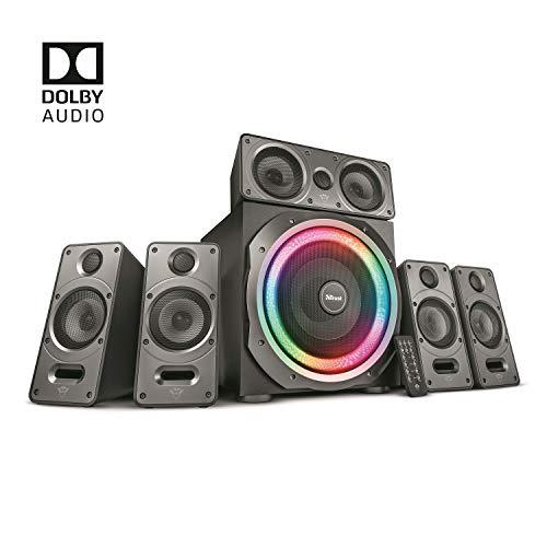 Trust GXT 698 Torro Dolby Digital 5.1 Sound System (Lautsprecher Set mit 180W...