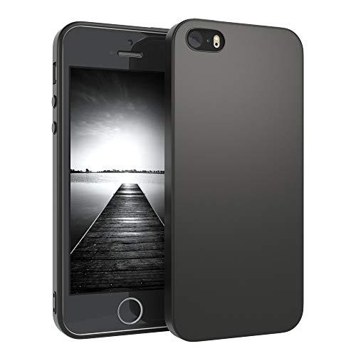 EAZY CASE Handyhülle Silikon mit Kameraschutz kompatibel mit iPhone 5 / iPhone...