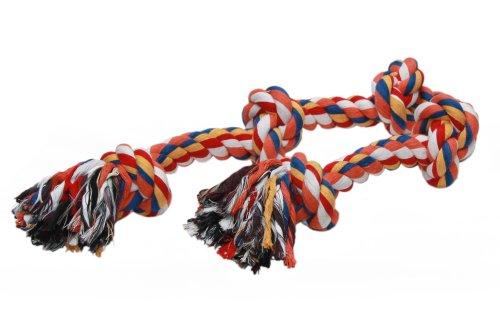 Nobby Rope Toy, schwer bunt 1000 g; 5 Knoten