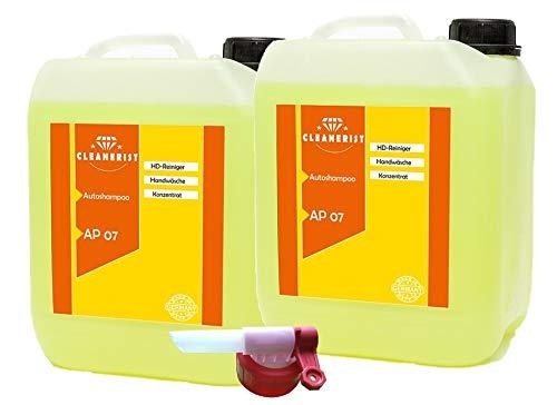 2x10 Liter Cleanerist Autoshampoo Konzentrat inkl. Auslaufhahn FLUXX von Sabeu...