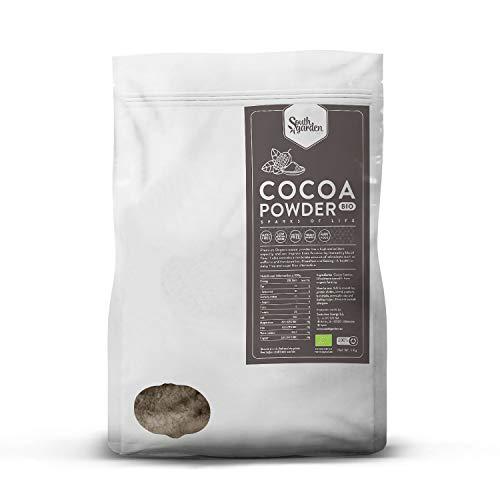 Kakaopulver BIO 1 Kg | SOUTH GARDEN | Roh | Vegan | Glutenfrei | Ohne Zucker |...