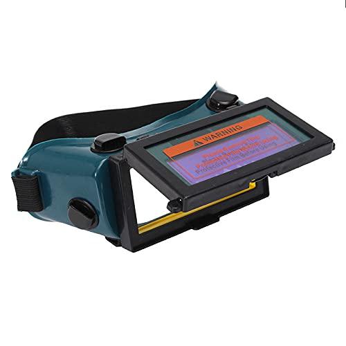 Schweißerbrille,Solar Auto Darkening Automatikschweißfilter LCD...