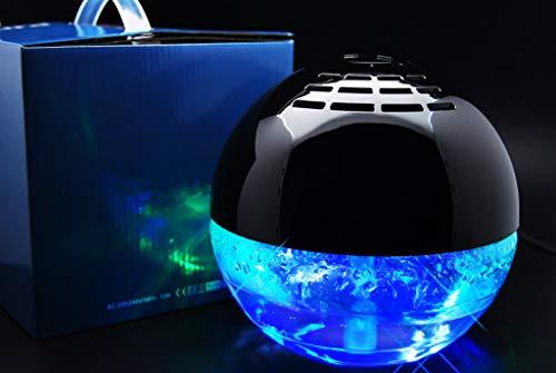 aspira Lura Lufterfrischer - geräuscharmer Luftbefeuchter mit LED Farb-Effekten...