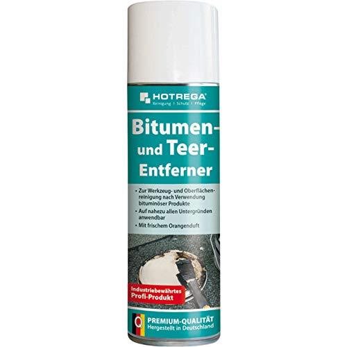 HOTREGA Bitumen- und Teer-Entferner 300 ml - entfernt auch Harz, Ruß,...