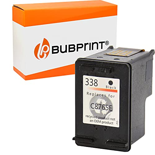 Bubprint Kompatibel Druckerpatrone als Ersatz für HP 338 HP338 für Deskjet...