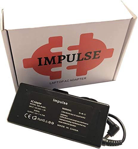 Impulse 65W 45W Notebook Netzteil - 5,5 x 1,7 mm - Ladekabel für Acer Aspire 1...
