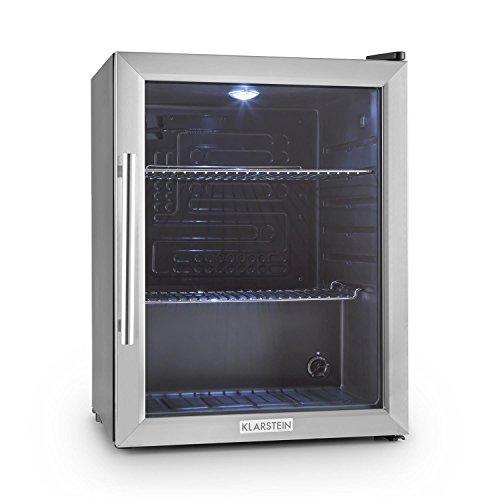 Klarstein Beersafe XL - Minibar, Mini-Kühlschrank, Getränkekühlschrank, 60...