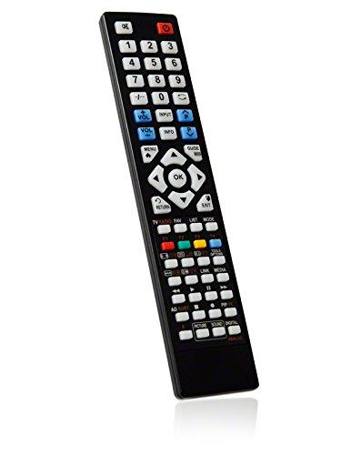 BRC3.44561 Ersatzfernbedienung speziell für TELEFUNKEN LCD/LED-TV L65F249I3C -...
