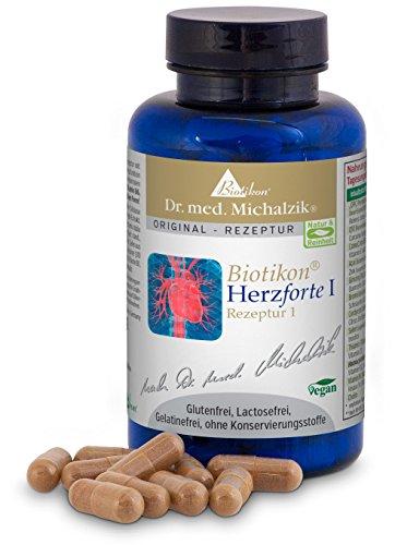 Herzforte I nach Dr. med. Michalzik - 120 Kapseln - Tagesempfehlung 2-4 Kapseln...