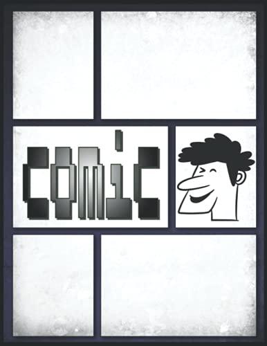 Comic 3d Zeichnen: Zeichnen Sie ein leeres Comic-Buch zum Erstellen Ihres...