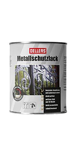 Metallschutzlack | 3 in 1 | Rostschutz, Grundierung und Decklack | für alle...
