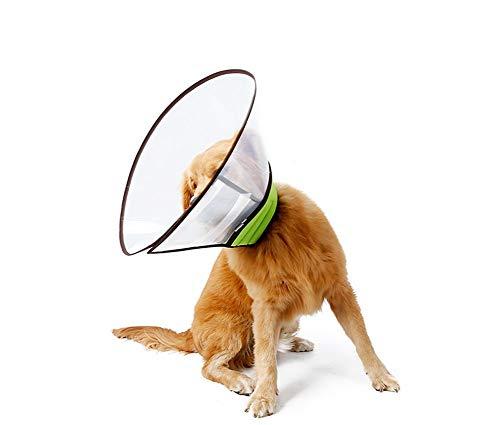 HEI SHOP Elizabethan Halsbänder für Katzen und kleine Hunde, atmungsaktiv,...