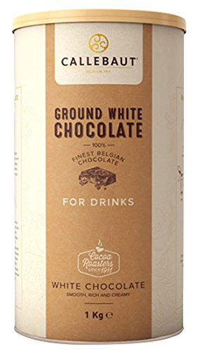 Callebaut - Ground White Chocolate Trinkschokolade Weiss - (1 x 1kg)