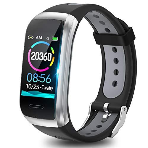 TagoBee Fitness Tracker TB14 IP68 Wasserdichtes Smart Band 1.14'' LCD...