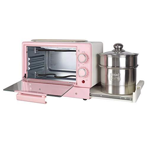 SLFPOASM Kleiner Ofen Multifunktionaler Haushalt 4-In-1-FrüHstüCksmaschine...