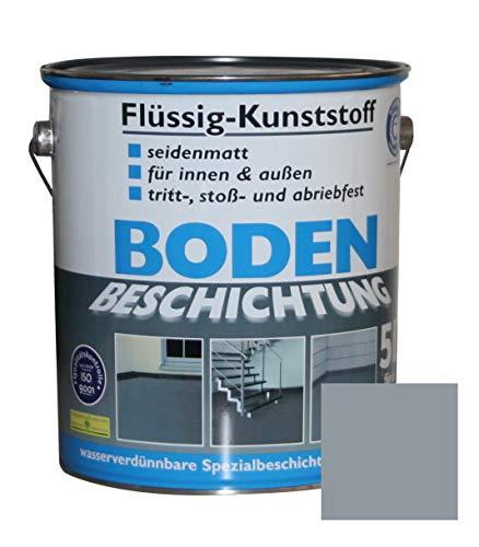 Flüssig Kunststoff 5L Bodenbeschichtung 50m² Betonfarbe Beton Beschichtung...